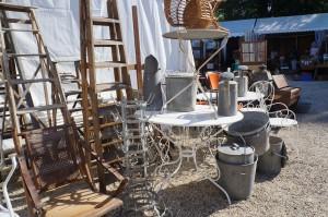 A fine collection of outdoor items at Foire de Chatou, Paris