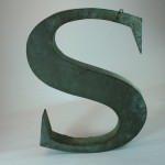The letter-S-front view