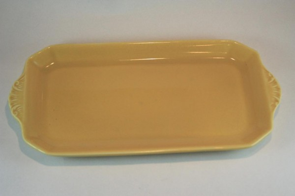Clarice Cliff yellow plate