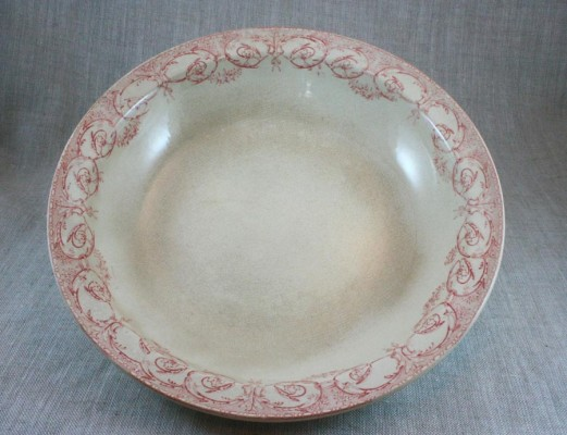 This vintage transferware bowl is perfect for salads or pasta.